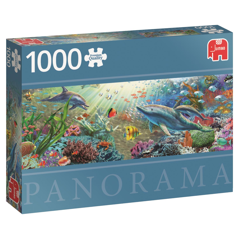 Puzzle Jumbo Panorámica Paraíso de Agua de 1000 Piezas