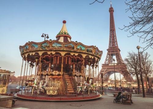Puzzle Jumbo París, Francia de 1000 Piezas