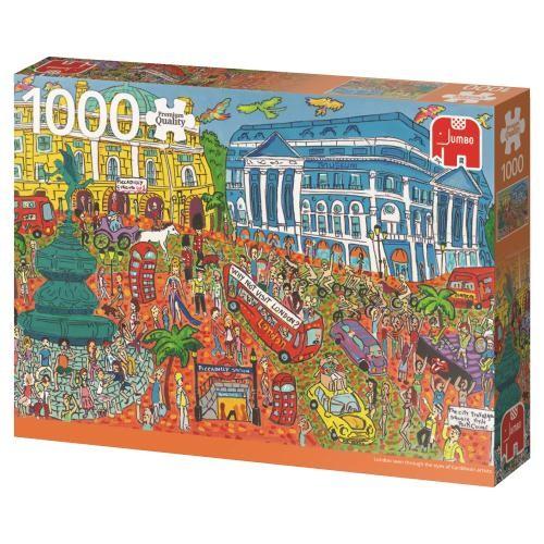 Puzzle Jumbo Piccadilly Circus, Londres de 1000 Piezas