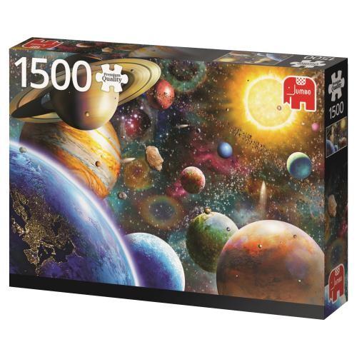 Puzzle Jumbo Planetas en el Espacio de 1500 Piezas