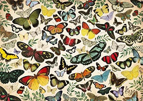 Puzzle Jumbo Poster de Mariposas de 1000 Piezas