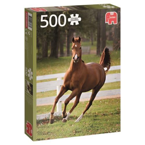 Puzzle Jumbo Potro Jugando de 500 Piezas