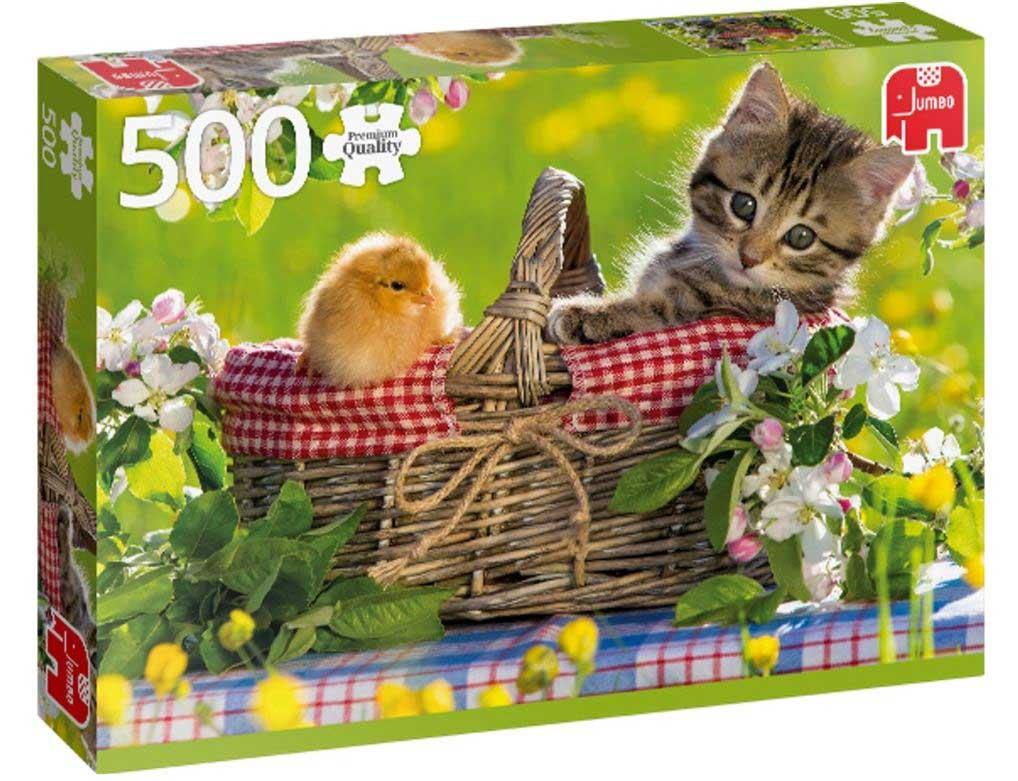 Puzzle Jumbo Preparados para el Picnic de 500 Piezas