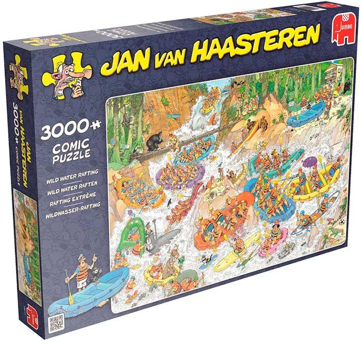 Puzzle Jumbo Rafting Salvaje de 3000 Piezas