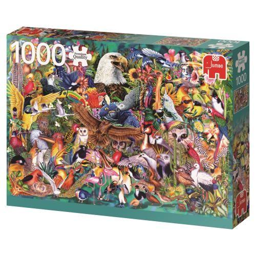 Puzzle Jumbo Reino Animal de 1000 Piezas