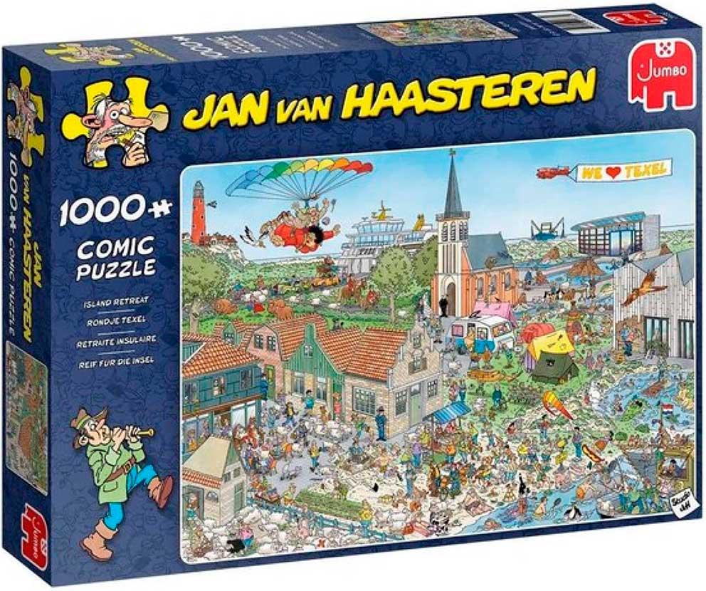 Puzzle Jumbo Retiro en la Isla de 1000 Piezas
