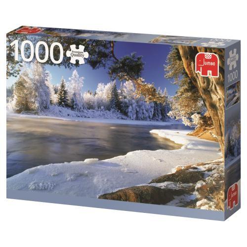 Puzzle Jumbo Rio Elado, Suecia de 1000 Piezas