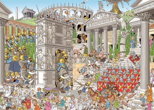Puzzle Jumbo Romanos de 1000 Piezas