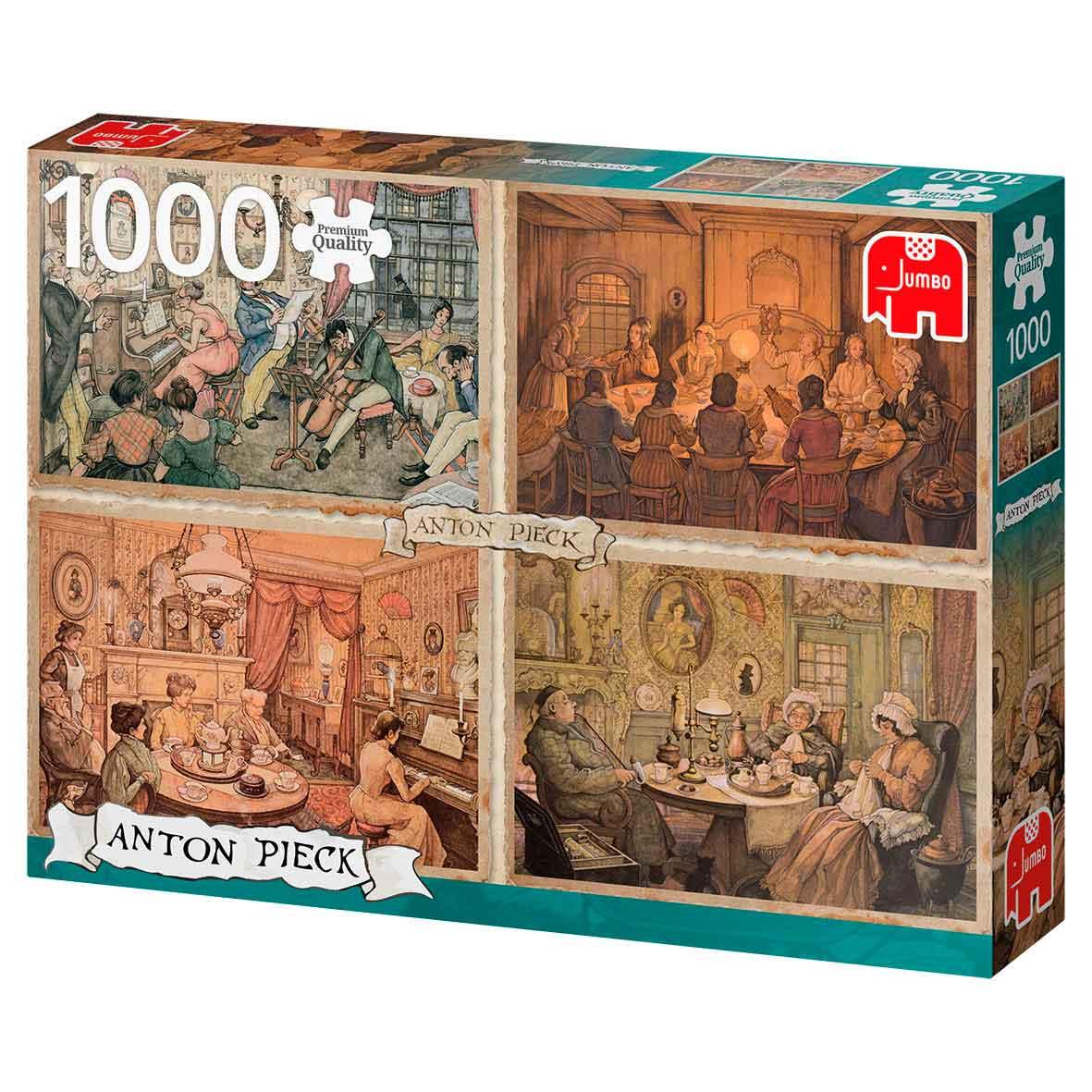 Puzzle Jumbo Salas de Entretenimiento de 1000 Piezas