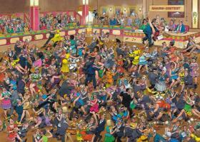 Puzzle Jumbo Salon de Baile de 1000 Piezas
