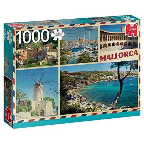 Puzzle Jumbo Saludos Desde Mallorca 1000 Piezas