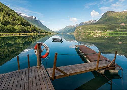 Puzzle Jumbo Stryn, Noruega de 1000 Piezas