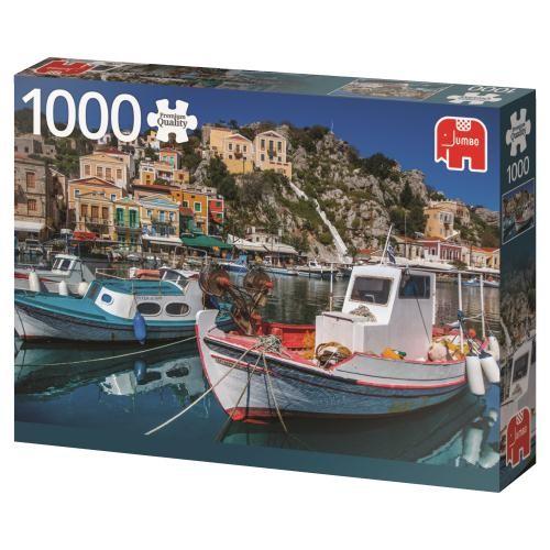 Puzzle Jumbo Symi, Grecia de 1000 Piezas