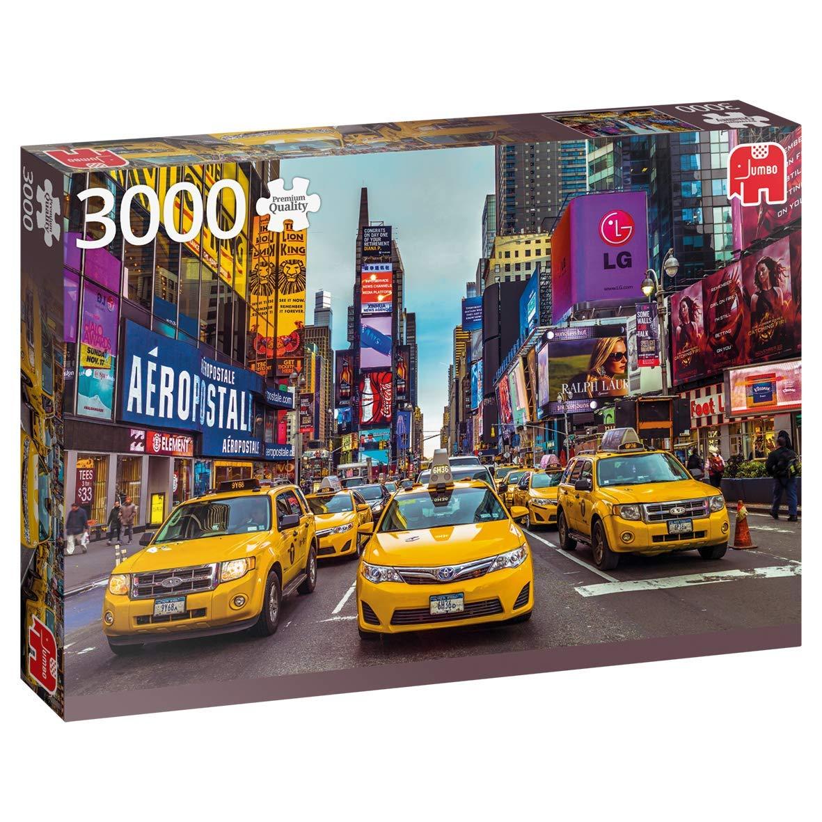 Puzzle Jumbo Taxis de Nueva York de 3000 Piezas