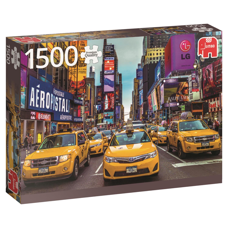 Puzzle Jumbo Taxis en Nueva York de 1500 Piezas
