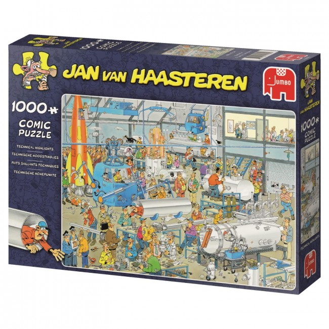 Puzzle Jumbo Tecnical Hightlight de 1000 Piezas
