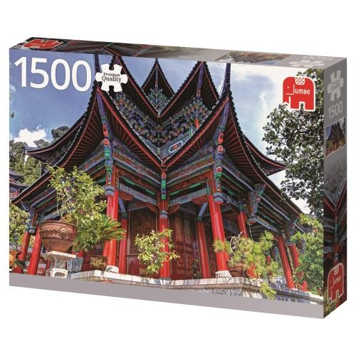Puzzle Jumbo Templo Chino de 1500 Piezas