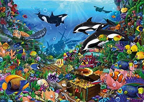 Puzzle Jumbo Tesoros del Fondo del Mar de 1000 Piezas