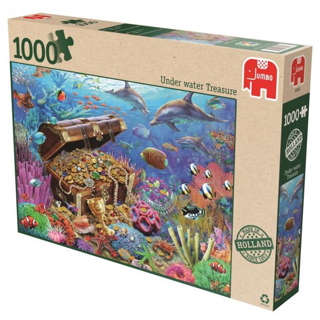 Puzzle Jumbo Tesoros Subterráneos de 1000 Piezas