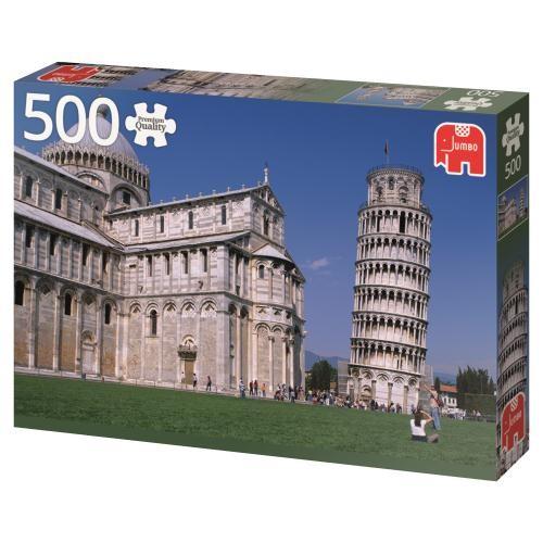 Puzzle Jumbo Torre de Pisa de 500 Piezas