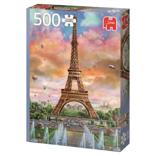 Puzzle Jumbo Torre Eiffel de 500 Piezas