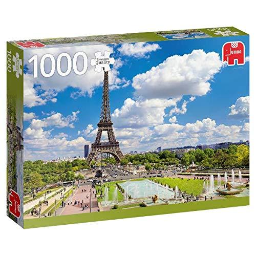 Puzzle Jumbo Torre Eiffel en Verano, París de 1000 Piezas
