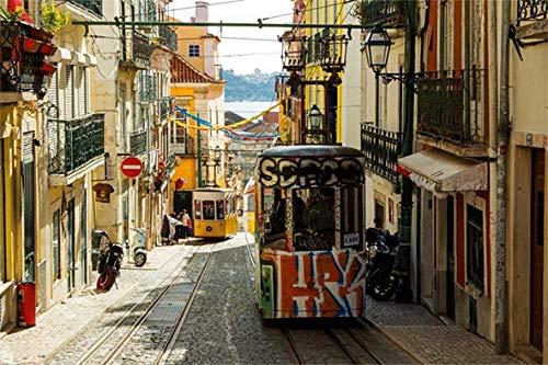 Puzzle Jumbo Tranvía de Lisboa, Portugal de 1500 Piezas