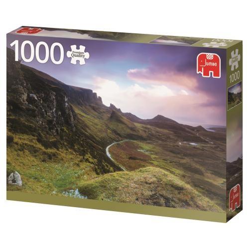Puzzle Jumbo Trotternish Ridge, Escocia  de 1000 Piezas