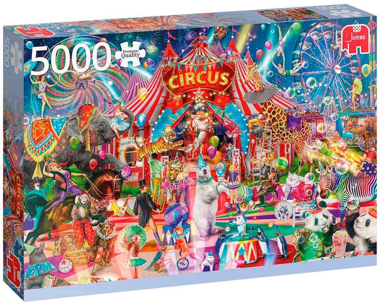 Puzzle Jumbo Una Noche en el Circo de 5000 Piezas