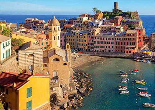 Puzzle Jumbo Vernazza, Cinque Terre, Italia de 500 Piezas