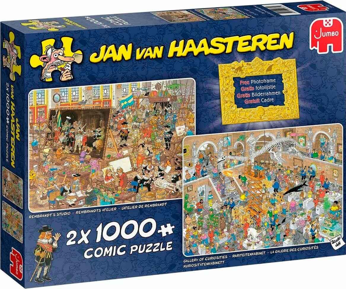 Puzzle Jumbo Viaje al Museo de 2 x 1000 Piezas