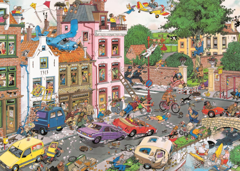 Puzzle Jumbo Viernes 13 de 1000 Piezas