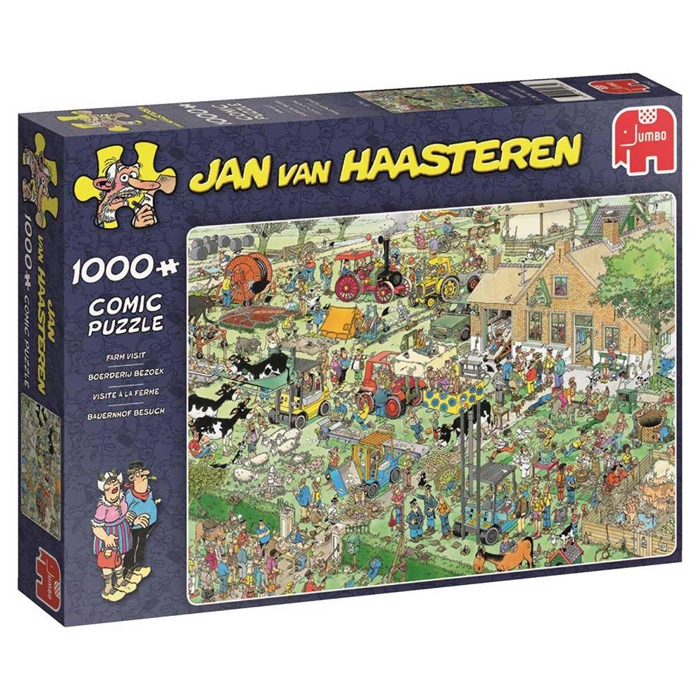 Puzzle Jumbo Visita a la Granja de 1000 Piezas