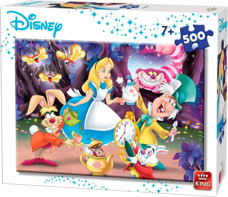 Puzzle King Alicia en el País de las Maravillas de 500 Pzs