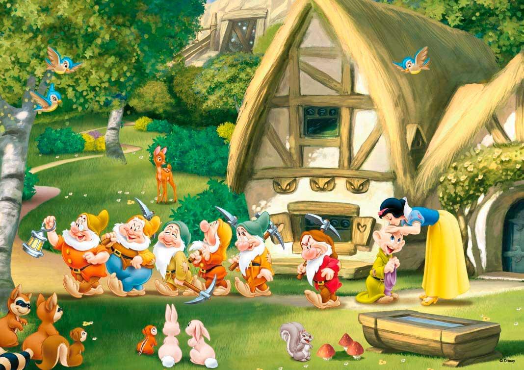 Puzzle King Blancanieves y los Siete Enanitos de 500 Pzs
