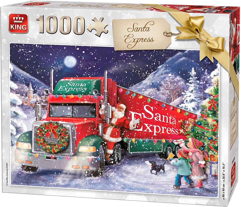 Puzzle King El Expreso de Santa Claus de 1000 Piezas
