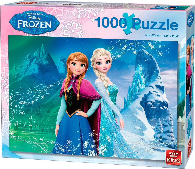 Puzzle King Frozen de 1000 Piezas