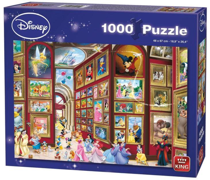 Puzzle King Galería Disney de 1000 Piezas