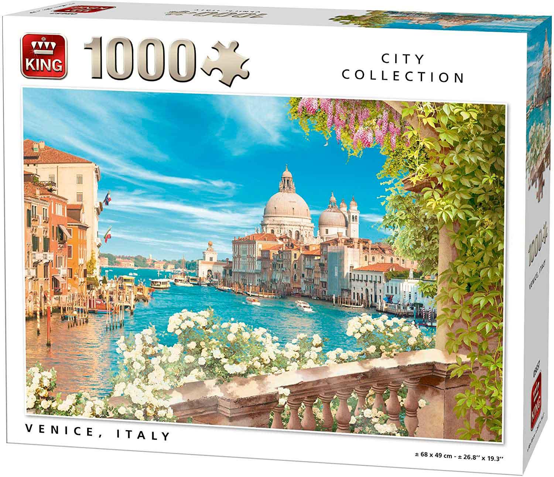 Puzzle King Gran Canal de Venecia de 1000 Piezas