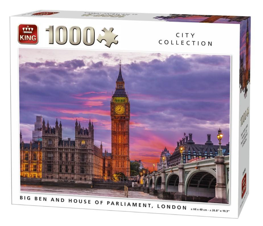 Puzzle King Londres de 1000 Piezas