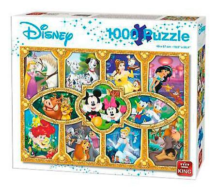 Puzzle King Momentos Mágicos de Disney de 1000 Piezas