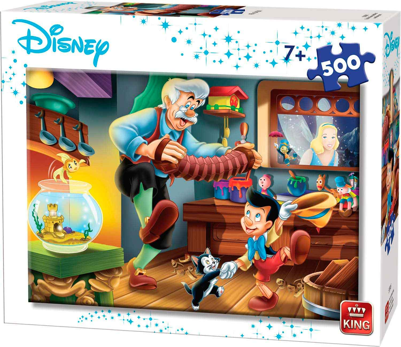 Puzzle King Pinocho de 500 Piezas