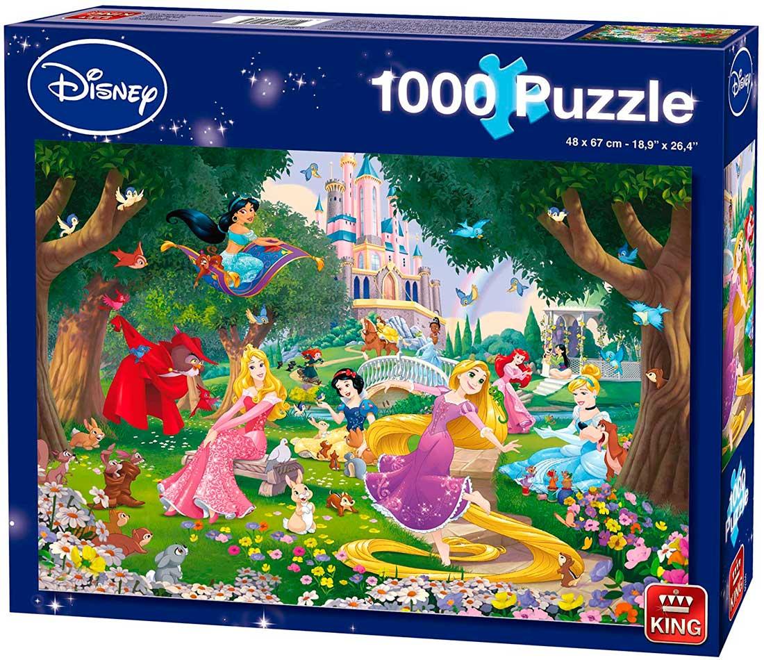 Puzzle King Princesas Disney de 1000 Piezas