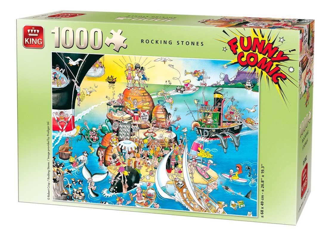 Puzzle King Rocking Stones de 1000 Piezas