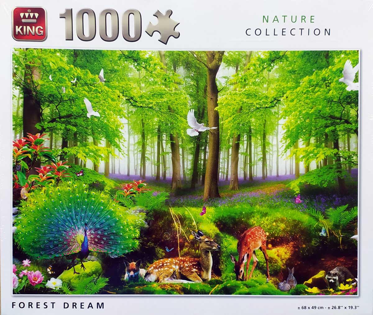 Puzzle King Sueño del Bosque de 1000 Piezas