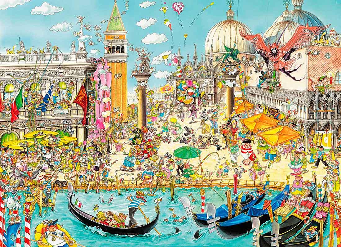 Puzzle King Venecia de 1000 Piezas