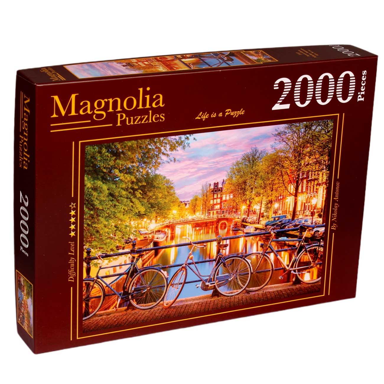 Puzzle Magnolia Amsterdam de 2000 Piezas