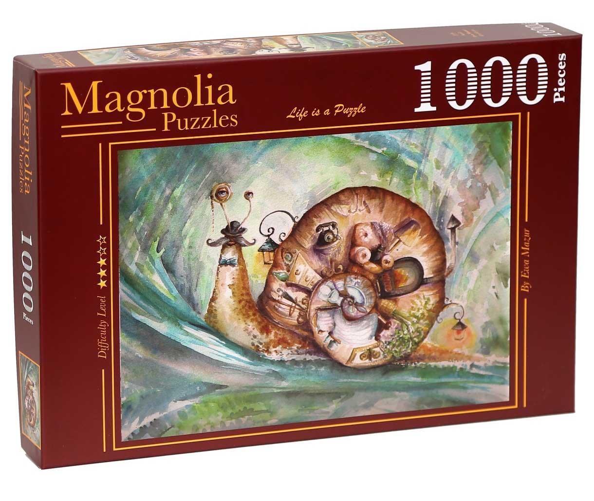 Puzzle Magnolia El Caracol de 1000 Piezas