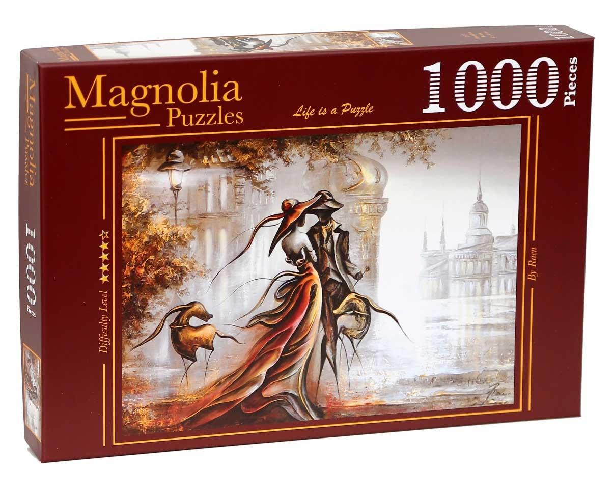 Puzzle Magnolia Cita a Ciegas de 1000 Piezas