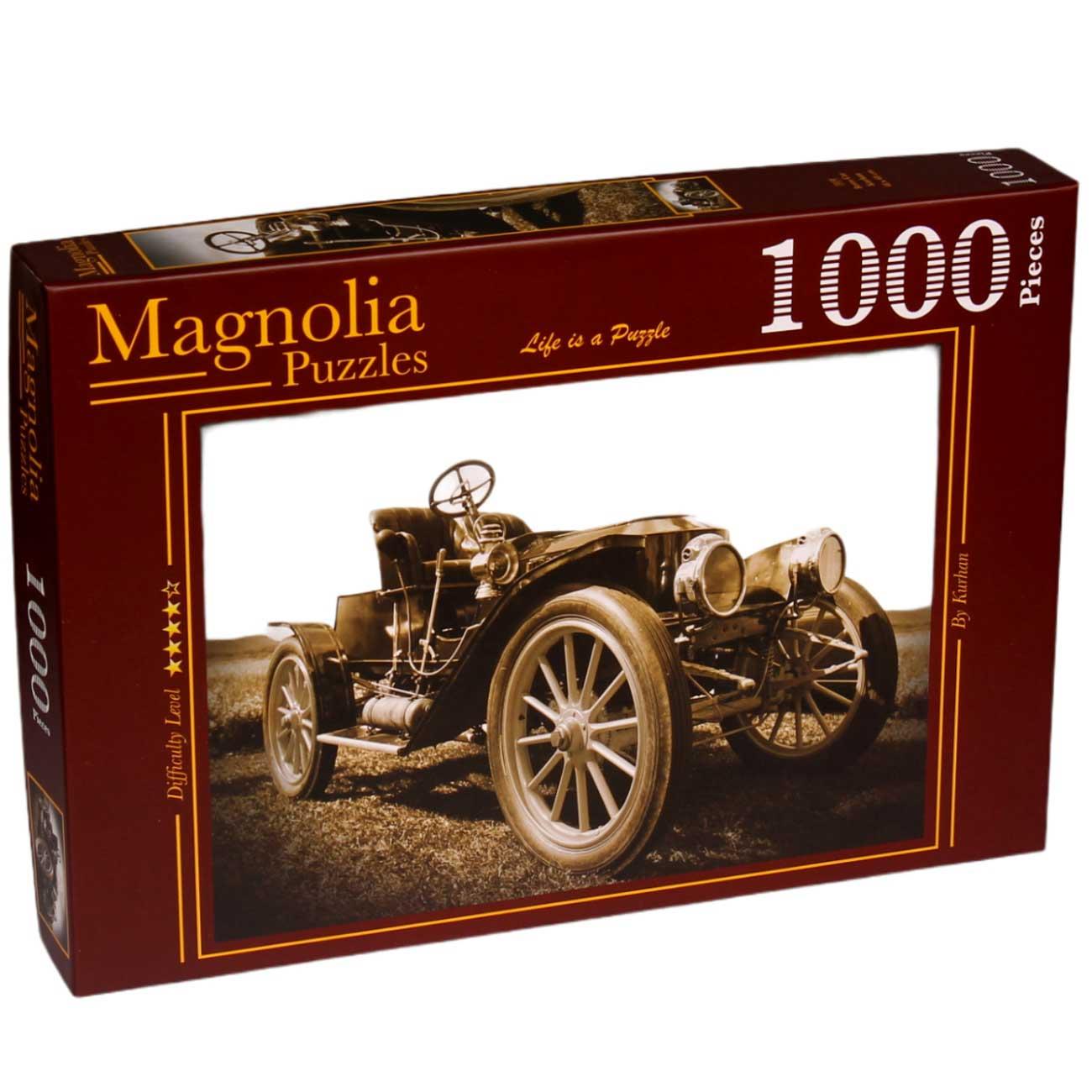 Puzzle Magnolia Coche Retro de 1000 Piezas